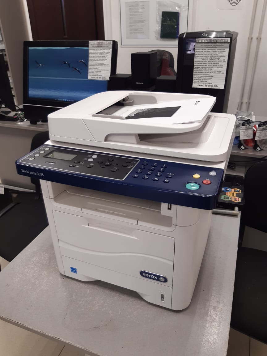 МФУ Xerox WorkCentre 3315